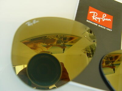 Ray Ban Rb 3025 Crystal Gold Mirror Calibro 58 Lenti New Originali
