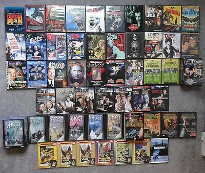 100+ Classic Horror Movie DVD Blu-Ray Lot Troma Euro Vampire Cult Gore Rare OOP
