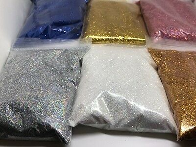 100G 50G 20G 10G Glitter Wine Glass Craft Holographic Iridescent Nail Floristry