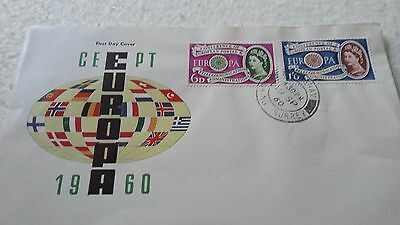 1960 Europa 1St Day  Cover