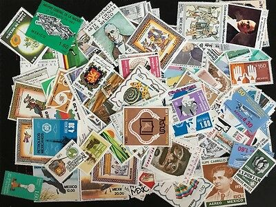 180 Un-Used Mexican stamps - Never Hinged