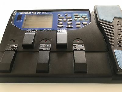 BOSS ME-30 GUITAR MULTIPLE EFFECTS From Japan Good Condition.