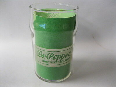 Dr Pepper Fountain Glass From The 1940's With Good For Life Logo