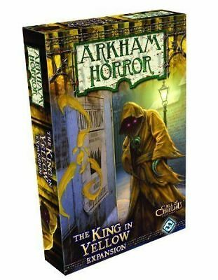 Arkham Horror The King in Yellow Expansion- NEW Board Game - AUS Stock
