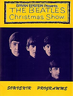 THE BEATLES CHRISTMAS SHOW SOUVENIR PROGRAMME - New Old Stock 1993 Reprint