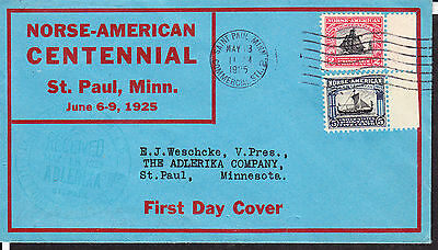 620-21/5 Weschcke  #1 Cpl Set of 2 on One Cover St Paul, MN-5/18/25