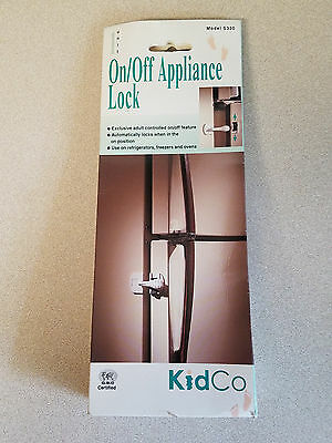 KidCo One Unit On/Off Appliance Lock Model # S330 (NEW)