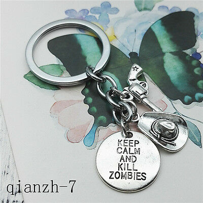 The Walking Dead RICK Creative keychain High Quality Alloy Pendant ewelry