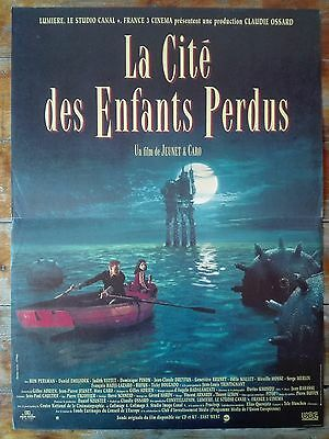 1995 THE CITY OF LOST CHILDREN JP Jeunet SCi-Fi 16x21 French Poster