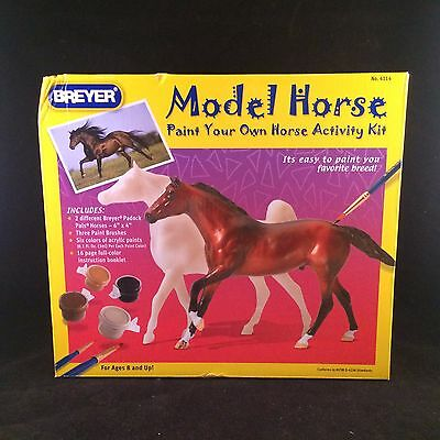 2007 Breyer Model Horse Paint Your Own Activity Kit #4114 Padock Pals Nos Craft