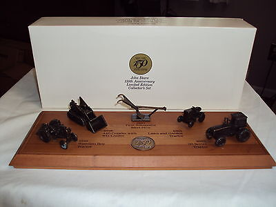 John Deere 150th Anniversary Limited Edition Collectors Set - Bronze