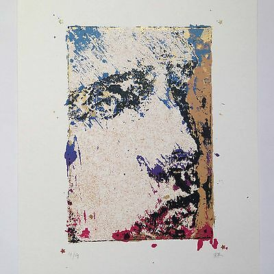 """""""The Face of Rome"""" STYLISED Original art print SILKSCREEN Limited ed. HAND MADE"""