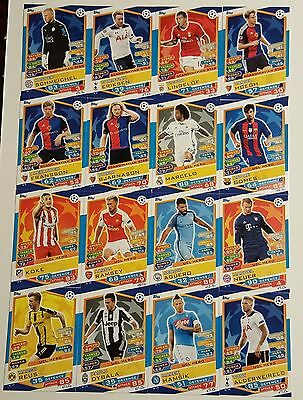 Match attax Champions League 2016/17 NORDIC EDITION (N 1 - 16)