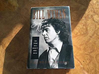 Rolling Stones book signed