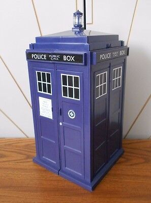 THE TARDIS large shaped storage box for trading cards, 6 drawers DOCTOR WHO dr
