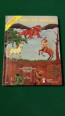 1979 Dungeons & Dragons Monster Manual 1st Edition 4th Print