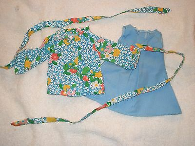 Fisher Price doll - My Friend doll clothes-blouse, jumper, hair ties/belt - #444