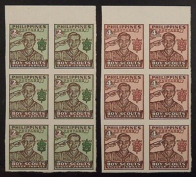 PHILIPPINES, 25th ANNIV. OF FOUNDING OF PHILIPPINES BOY SCOUTS, issued 1948, MNH