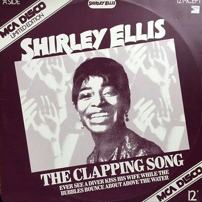"""SHIRLEY ELLIS Name Game + Clapping Song + 2 UK 12"""" VINYL EP Pic Slv MOD Classics"""