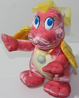 '02 Fisher Price DRAGON TALES CASSIE Talking Dancing STUFFED PLUSH SOFT TOY Cute
