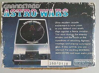 Vintage Retro Grandstand Astro Wars Game Console Rare Boxed Tested and Working