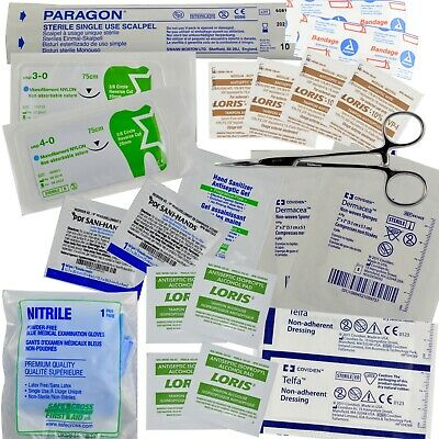 First Aid Medical Kit Refill Ultimate - 43 pcs, Military IFAK issue