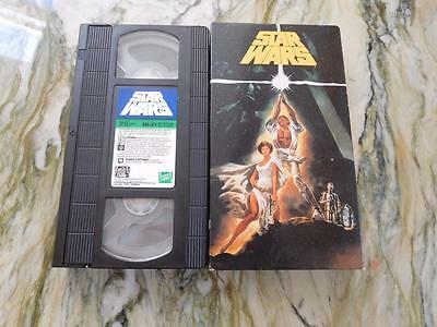 Star Wars Video - ++ Condition  - 1992- NON RENTAL (REDUCED) *Special* (SW20171)