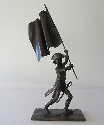 Bronze Figurine Of Napoleon Bonaparte As A General Of The Army Of Italy, 1796