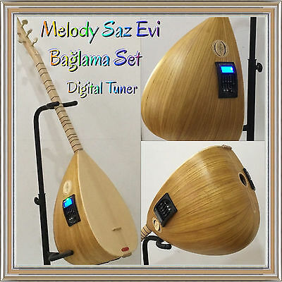 Saz Baglama // Equalizer /Digital Tuner/ Dut Tonabnehmer/ Elektro/video/ Melody