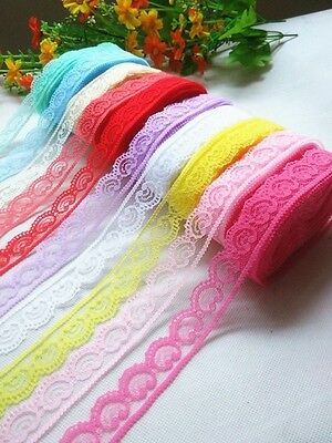 Lilac Heart-Polyester Cotton Applique Ribbon Lace Edge Trim DIY Sewing Craft