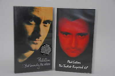 Phil Collins Vhs But Seriously The Videos + No Jacket Required Ep Video