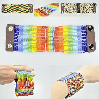 African Tribal Handmade Masai Beaded Summer Bracelets, Holiday Gifts Accessories