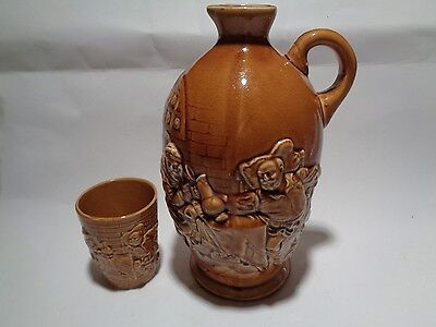 Vintage Jug or Pitcher and Cup Made in Japan