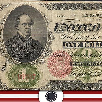 1862 $1 Dollar Legal Tender United States Note GREEN BACK Currency Fr 17a  99207