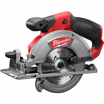 "M12 FUEL 5-3/8"" Circular Saw (Bare Tool) Milwaukee 2530-20 New"