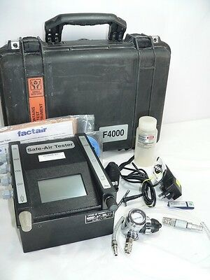 "Factair ""Safe-Air Tester"" -  Model: F4000, For Breathing Air Supply Monitoring"