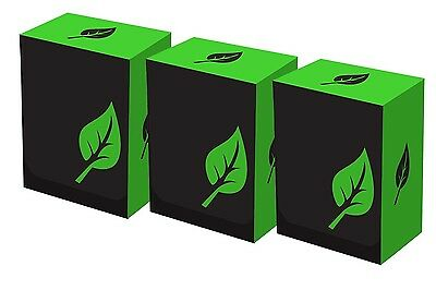 Iconic: Green Life lot of 3 Deck Boxes, Legion Supplies