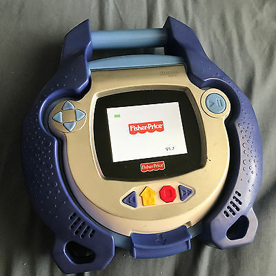 For Parts or Repair - Fisher Price Kid Tough Portable DVD Player, Blue - Rare