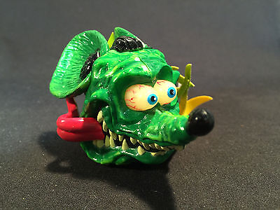 RARE NOS New Old Stock Rat Fink by Ed Roth Car or Truck Antenna Topper w/flames