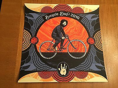 """Jerry Garcia """"bicycle Day 2016"""" Poster Print Grateful Dead & Co Company Tickets!"""