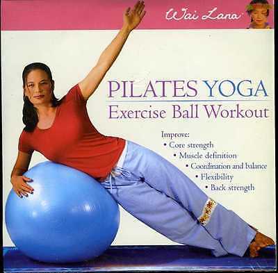 Wai Lana Pilates Yoga Exercise Ball Workout dvd