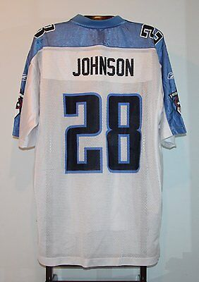 Maillot Trikot Jersey Foot Américain Nfl Us Chris Johnson Titans Tennessee XXL