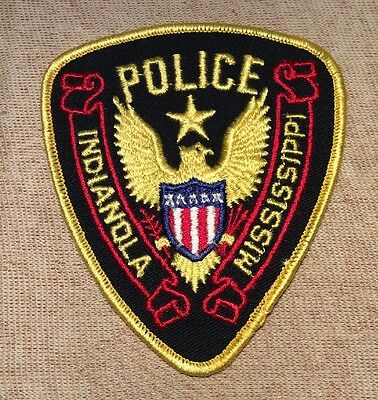 MS Indianola Mississippi Police Patch