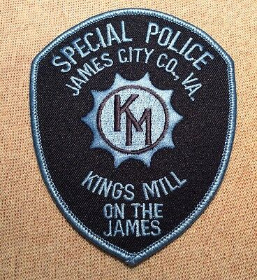 VA Kingsmill on the James Virginia Private Special Police Patch
