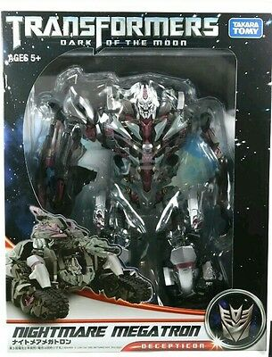 Transformers  DOTM LEADER CLASS MEGATRON NIGHTMARE TOKYO EXCLUSIVE TAKARA TOMY