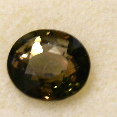 Natural earth-mined bronze tourmaline gemstone...2 carats