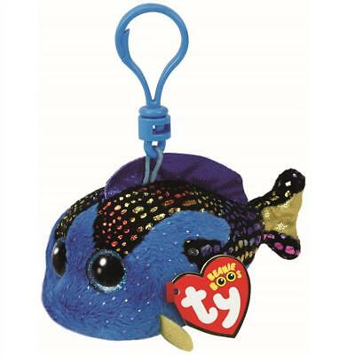 Ty Beanie Babies 35035 Boos Aqua the Fish Boo Key Clip