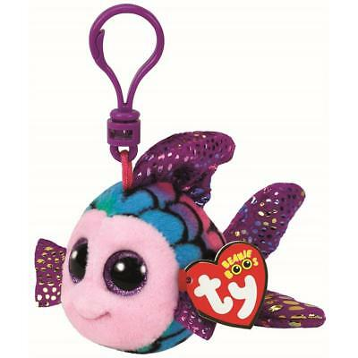 Ty Beanie Babies 35034 Boos Flippy the Fish Boo Key Clip