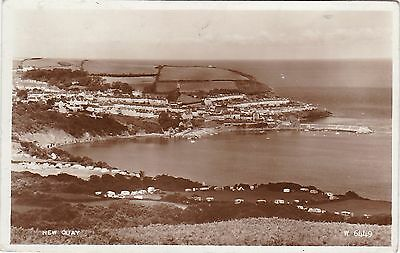 General View, NEW QUAY, Cardiganshire RP