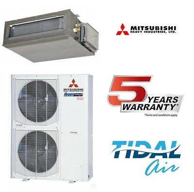 Mitsubishi Heavy 12.5Kw Ducted split Air Conditioner FDUA125VF Supply+Install